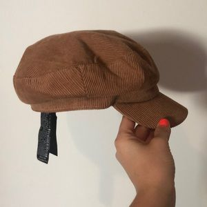 Zara Corduroy fisherman's cap